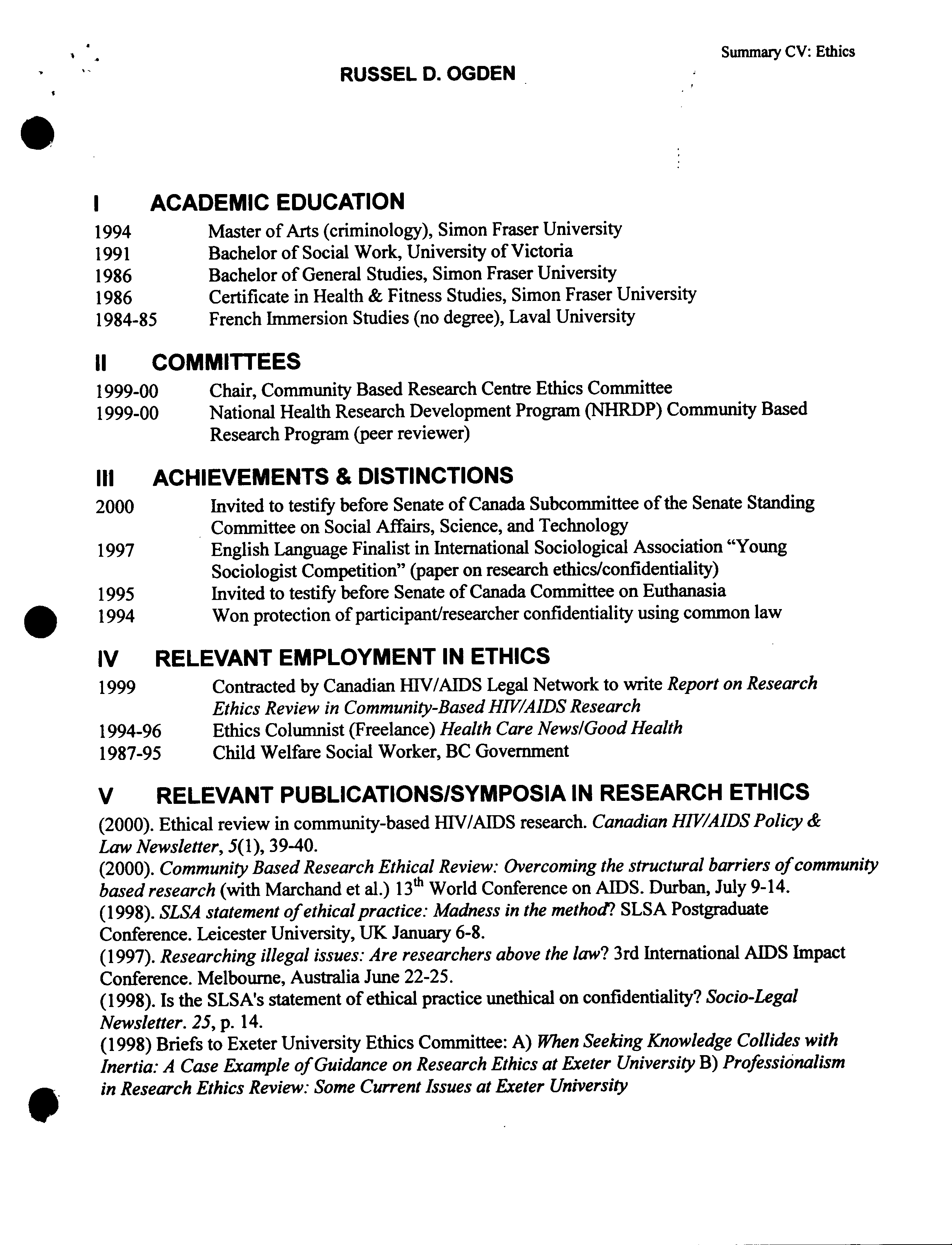 bachelor degree example scientific paper outline