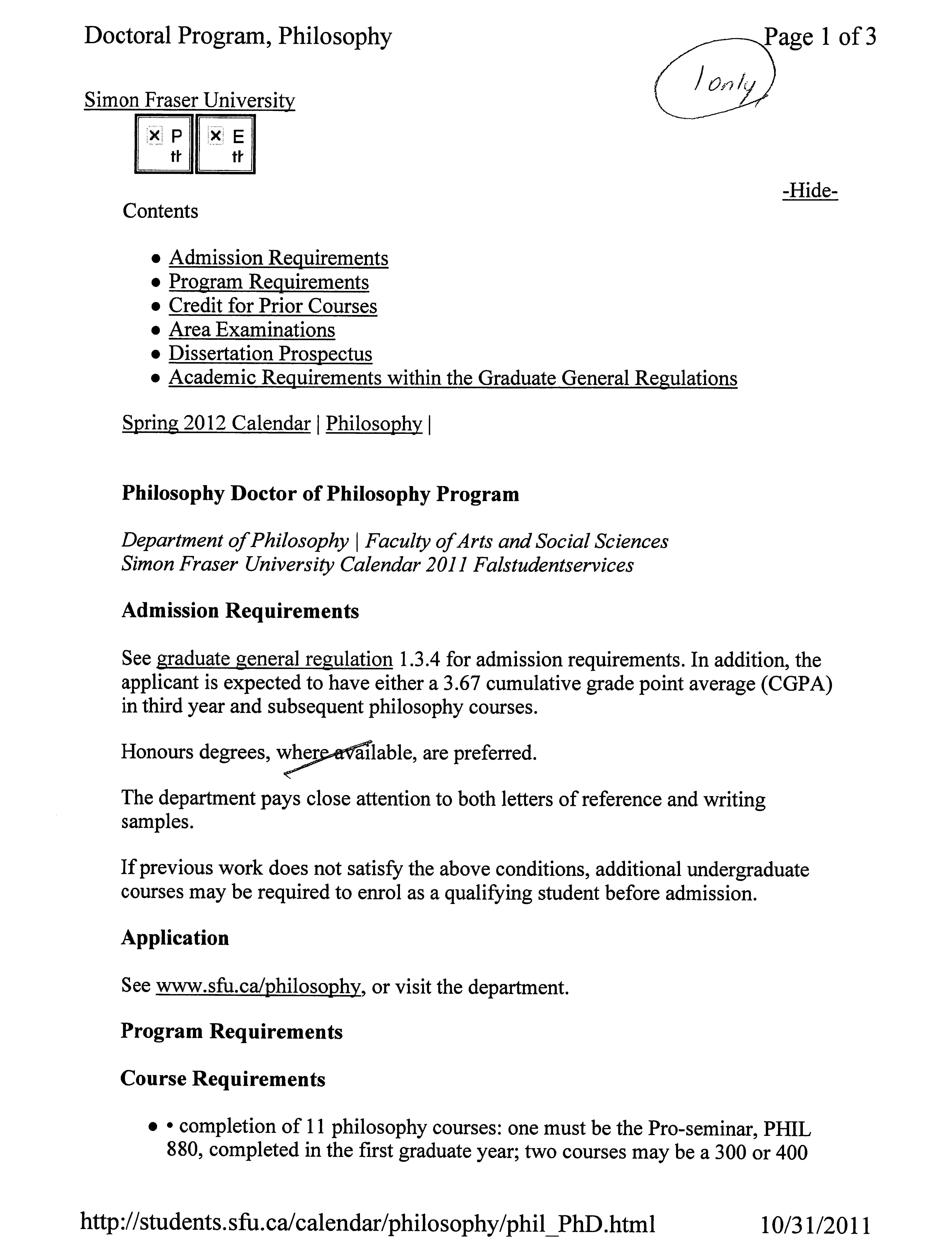 Thesis research prospectus : Help to write resume