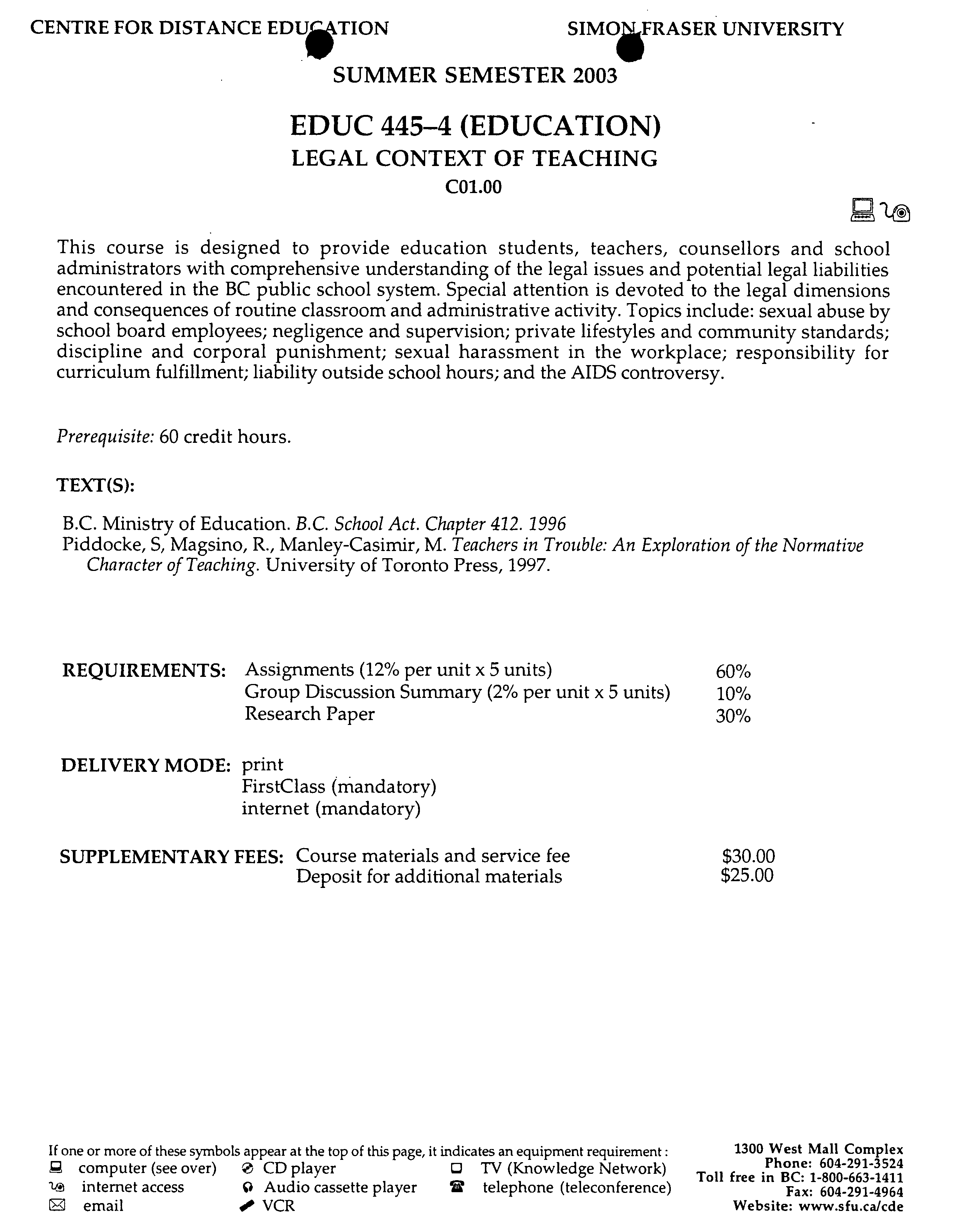 legal liabilities of school administrators
