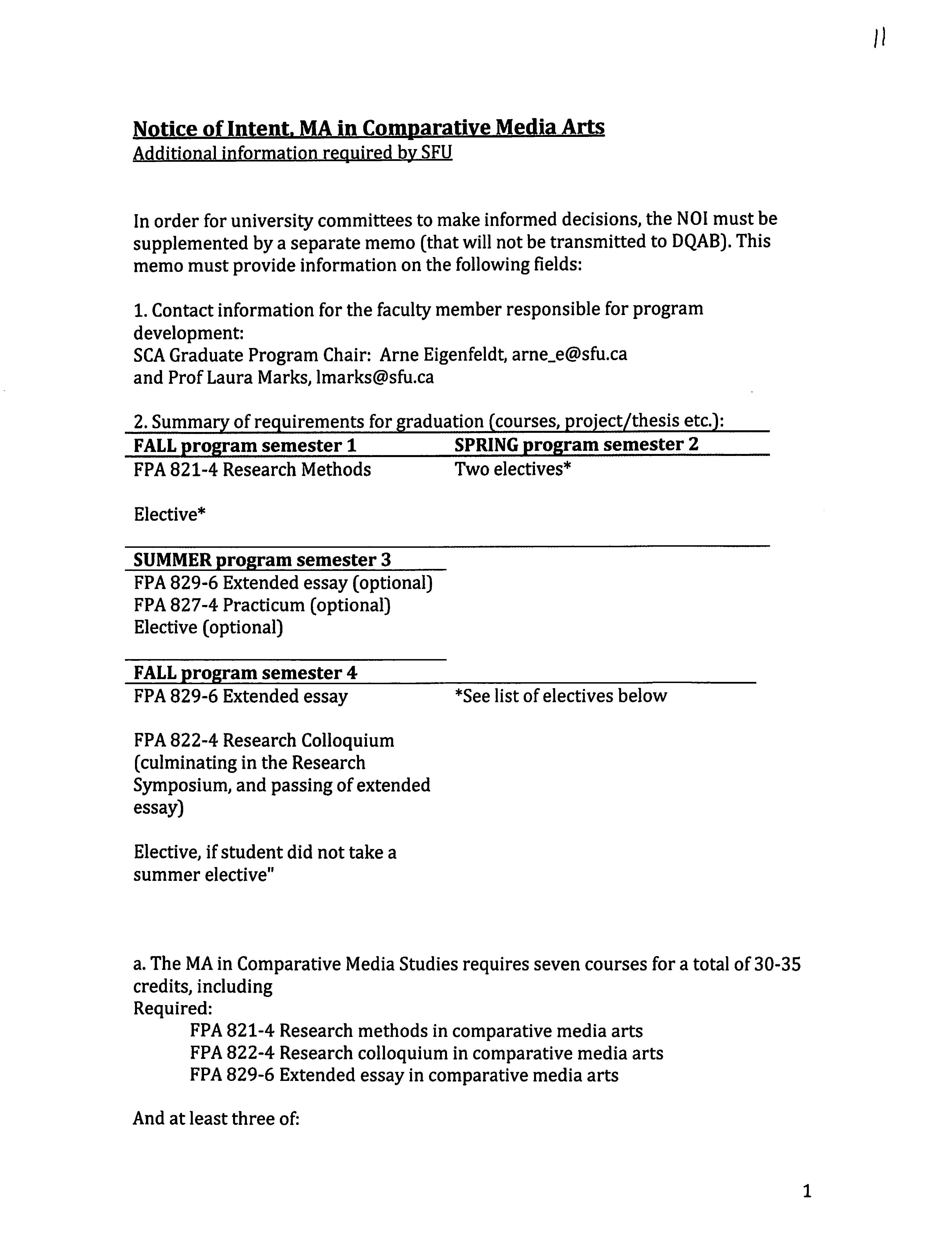 Thesis Defence Guidelines